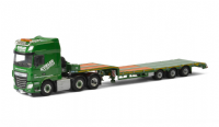 WSI Sped. Kubler GmbH; DAF XF SSC 6x2 with SEMI LOWLOADER